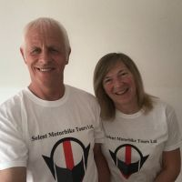 Solent Motorbike Tours, UK and Europe, Carl and Carol
