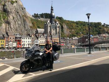 Solent Motorbike Tours, Belgium, Flanders, Dinant