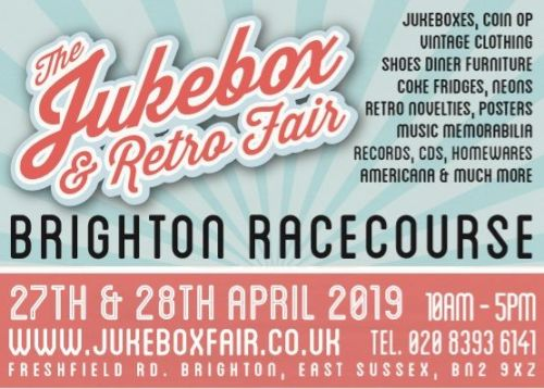 The Jukebox Show and Retro Fair, Brighton, April 2019