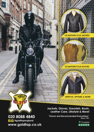 THE BIKER GUIDE - 8th edition, Goldtop