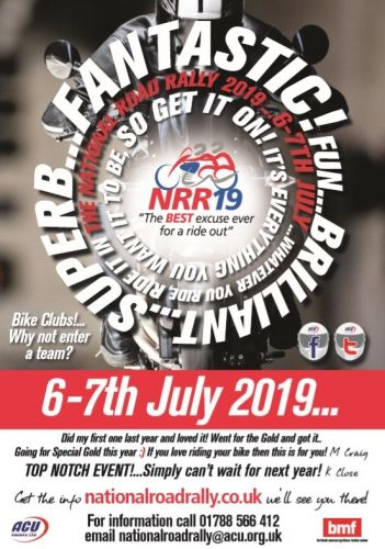 THE BIKER GUIDE - 8th edition, National Road Rally