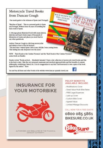 THE BIKER GUIDE - 8th edition, Motorcycle Travel Books