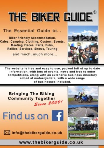 THE BIKER GUIDE - 8th edition, The essential guide for Bikers