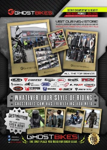 THE BIKER GUIDE - 8th edition, Ghost Bikes, Motorcycle Clothing, accessorie