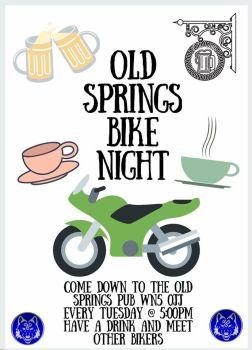The Old Springs Bike Night