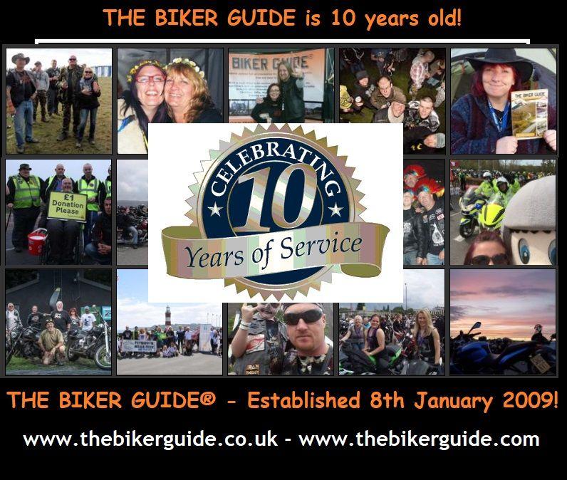 THE BIKER GUIDE® - Established 8th January 2009!