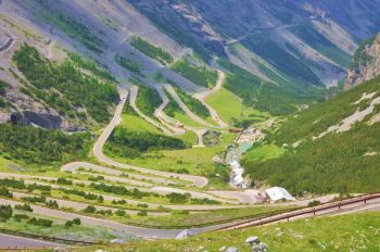 Magellan Motorcycle Tours, Stelvio pass, Greece Wonders of the Ancient Worl