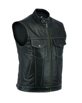 Leatherick, Biker Leather Waistcoats, Sons of Anarchy