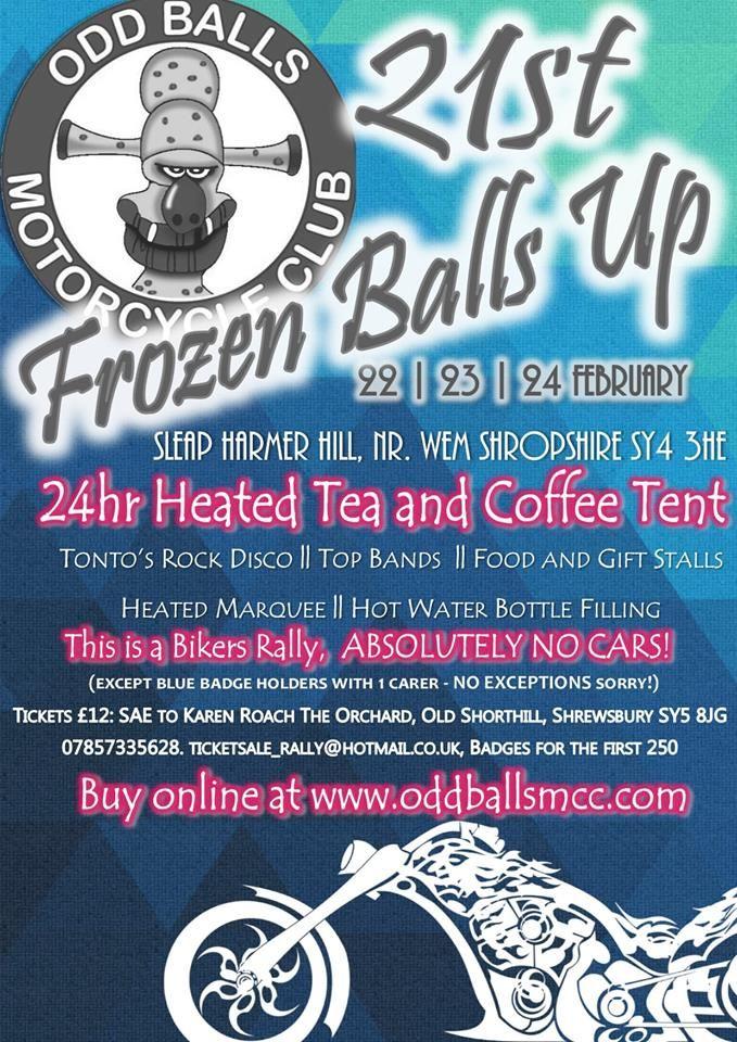 21st Frozen Balls Up - Oddballs MCC 2019