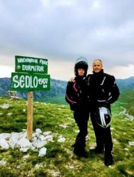 Moto Tours Croatia, motorcycle tours, your guides Robert and Andrea