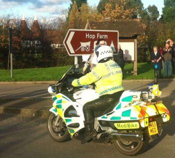 Hop Farm, Bikers welcome, Campsite, Kent