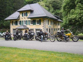 Moto-hotel Col de Bussang, Biker Friendly, Alsace, France
