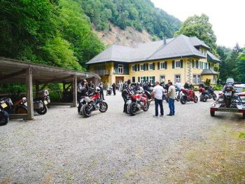 Moto-hotel Col de Bussang, Bikers welcome, Alsace, France