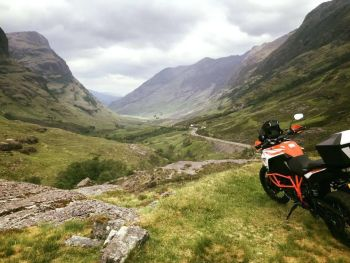 Scottish Moto Adventures, Motorcycle Tour Guide, Scenic Scotland