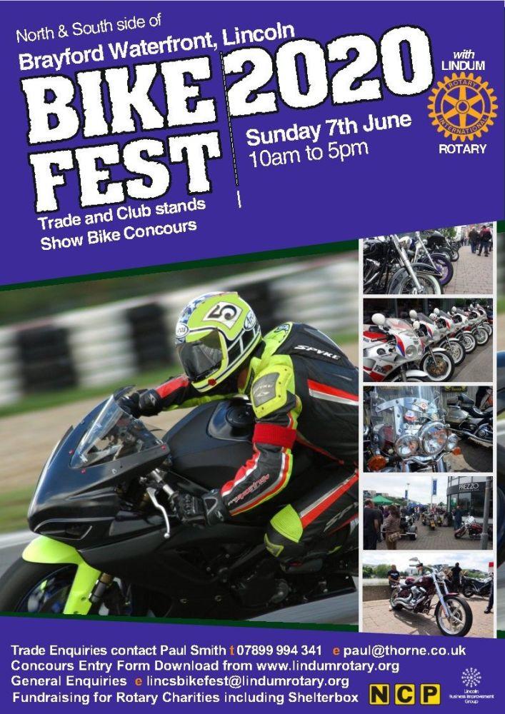 Lincoln Bike Fest, Brayford Waterfront, June, Motorbikes