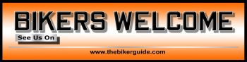BIKERS WELCOME sticker