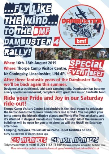 BMF Dambuster 4 Rally 2019