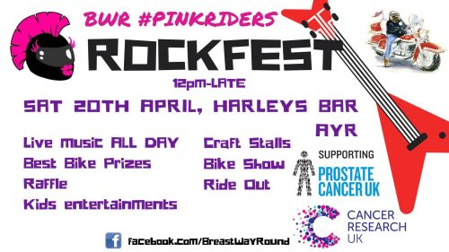ROCKFEST - Hosted by Breast Way Round