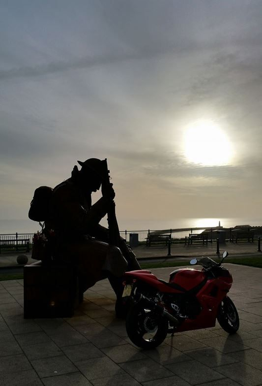 My Daytona with Tommy at Seaham, County Durham. from Stew Taylor