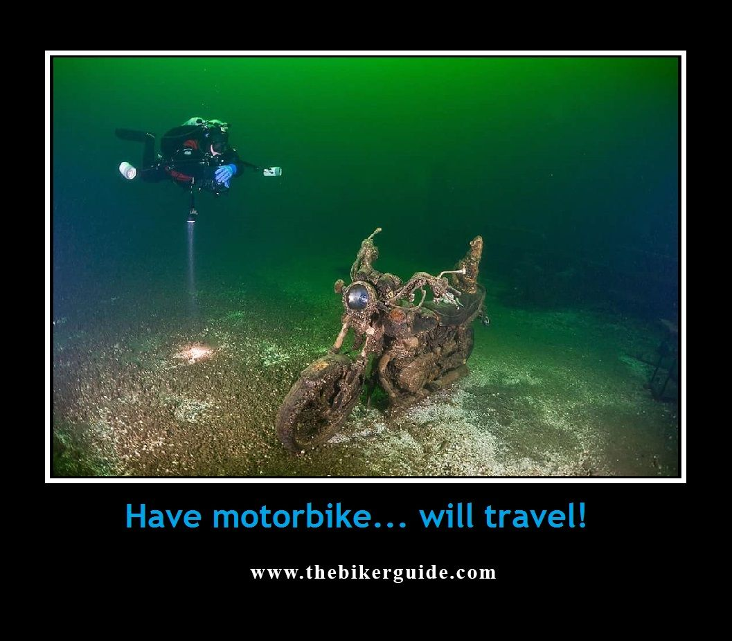 Have motorbike... will travel!
