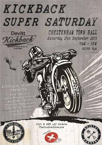 Kickback, Motorcycle Custom Show, Cheltenham, Gloucestershire
