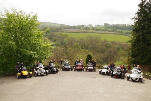 Llanerchindda Farm, Biker Friendly, Llandovery, Carmarthenshire