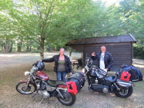 Camping Moto Dordogne, Bikers welcome, cabins, France