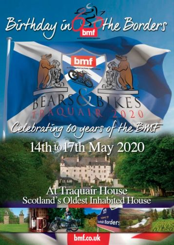 Bears and Bikes, BMF Birthday in the Borders, 14th - 17th May 2020