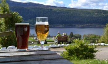 The Craigdarroch Inn , Bikers Welcome, Loch Ness, Inverness, Scottish Highl
