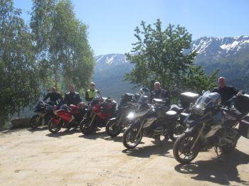 Magellan Motorcycle Tours, Grand tour, France, Corsica, Alps, Millau Bridge