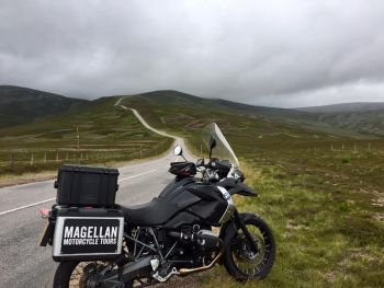 Magellan Motorcycle Tours, Scotland, NC500, Cairngorms National Park