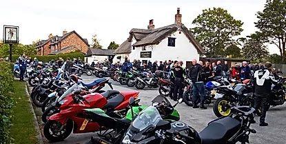 The Scotch Piper, Bike meet, Liverpool, Merseyside