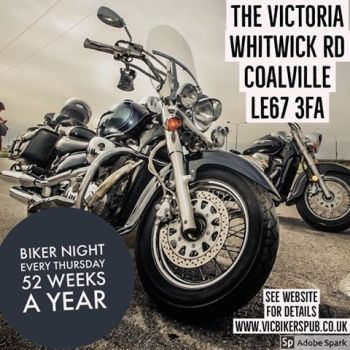 Victoria Bikers Pub,Thursday Bike Night, Leicestershire, Midlands,