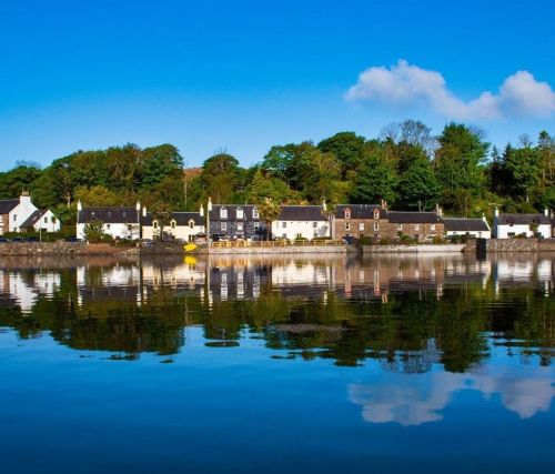Plockton Hotel, Biker Friendly, Lochalsh, West Highlands, Scotland