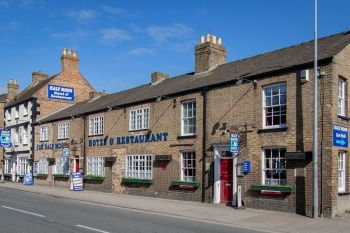 Half Moon Hotel, Biker Friendly, Alford ,Lincolnshire, pub