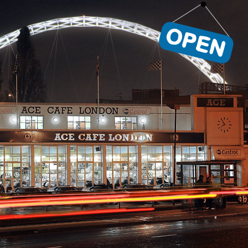 Ace Cafe London - Open