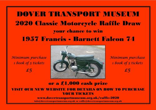 Help the Dover Transport Museum AND have a chance to win a vintage bike or