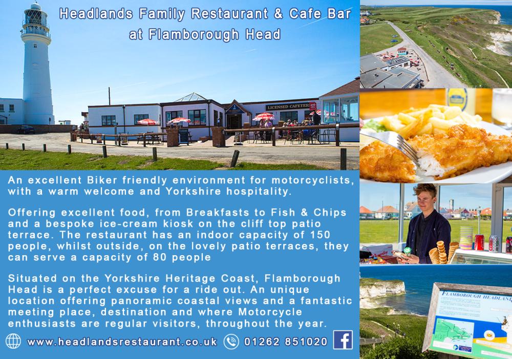 Headlands Family Restaurant Cafe Bar, Flamborough Head, Bridlington, East Y