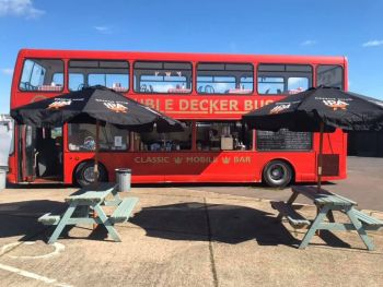 The Red Double Decker Cafe, Biker Friendly, Epping, Essex