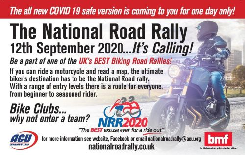 National Road Rally, BMF, COVID Safe, September 2020