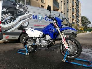 Mo-Clean, Motorcycle wash, polish, bike detailing, covering London, Hertfor