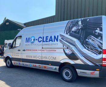 Mo-Clean, Mobile Motorcycle wash, polish, bike detailing, back to showroom