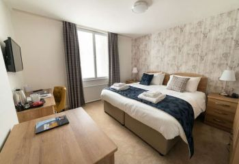 County Hotel, Bikers Welcome, Kendal, Cumbria, Lakes