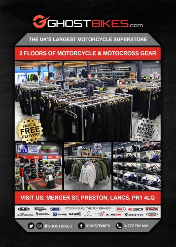 THE BIKER GUIDE, 9th edition, Ghost Bikes, Motorcycle Clothing, accessories