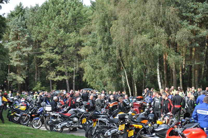 Willingham Woods Biker Meet, Market Rasen, Lincs