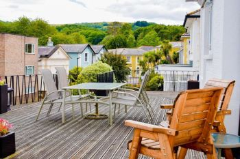 The Braemar, Biker Friendly, view, Old Shanklin, Isle of Wight