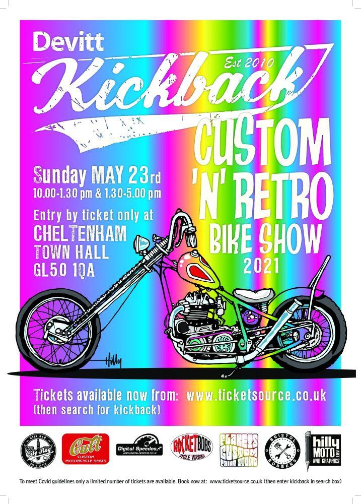 KICKBACK Custom + Retro Bike Show 2021