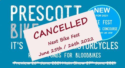 Prescott Bike Festival - Postponed