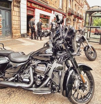 Outkast Company, Bikers Welcome, North Parade, Matlock Bath