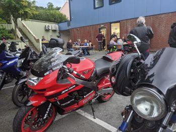 Anns Kitchen, Biker Friendly Cafe, Mochdre, Bike Night